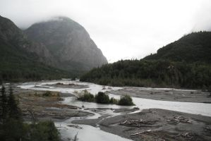 Crow's Pass Big River 4 by prints-of-stock