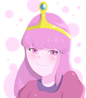 Princess Bubblegum by RainingTeddyBears