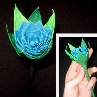 Duct Tape Rose by Lil-Leia