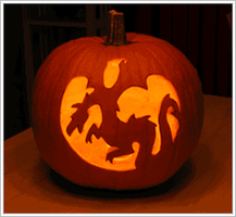 Dragon Pumpkin Carving by Dr8co1