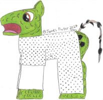 TCITW Hospital Gown Mutant, Ponified. by Rock-Raider