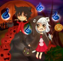 Trick or Treating? by Yoruni