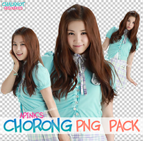 Apink's Chorong Png Pack by chalknotbh3