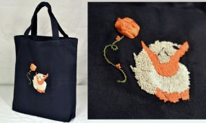 Flareon Tote Bag FOR SALE by DrisanaRM