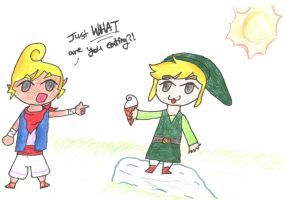 Links Ice Cream by bananayellow12