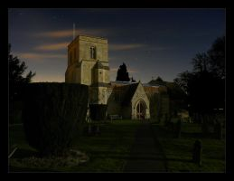St Giles by Moonlight by Bogbrush