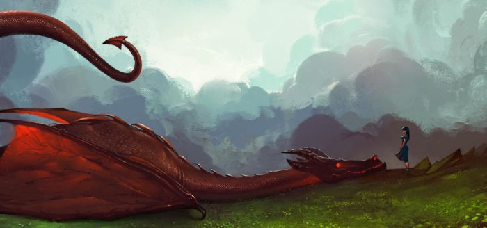 Dragon love by firatsolhan