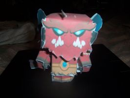 Chaor -papercraft by Darkflametailz