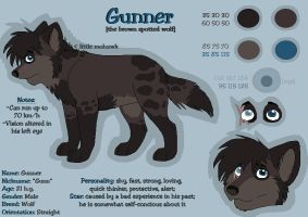 Gunner Reference Sheet by squishy-paws