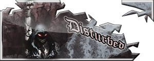 disturbed signature by dollard593