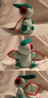 Flygon Pokedoll Commission by Glacdeas