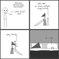 Why Pyramid Head Has Fangirls by that-cat