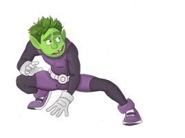 Beastboy by QueenEyesore