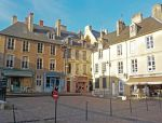 La Place a Bayeux by Kevin-Welch