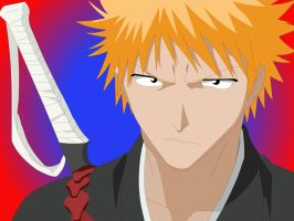 Ichigo: why you looking at me by Mifang
