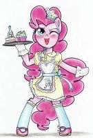Sweet Maid Pinkie Pie by Matsuban