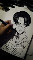 Levi sketch [2] by DoreiShounen