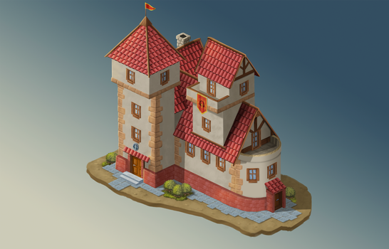 Game design - Town hall - Final version by air87art