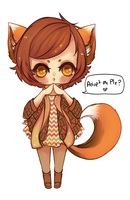 Foxy Adopt (Sold) by Wuhvly