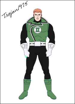 Green Lantern Guy Gardner by Trojan1975