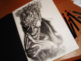 sketch of Joker by sqak
