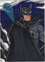 batman sketchcard 3 by The-Standard