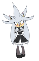 .:Sonic:. Silver Maid by kiuki-10