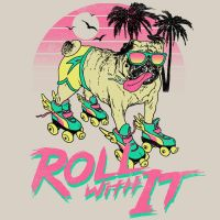 Roll With It by HillaryWhiteRabbit