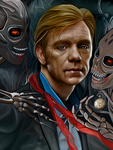 Best wishes David Caruso by OnurahArt