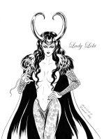 Dark Queen Lady Loki by beckpage