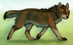 AT: .: A Stroll in the Wild :. by SillyTheWolf