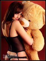 Love Sick Teddy Bear by fkh