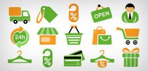 15 shopping icons by DuckFiles