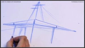 Learn how to draw city buildings 006 by drawingcourse