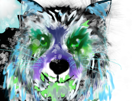Wolf from the forest of coldness by Fairttail