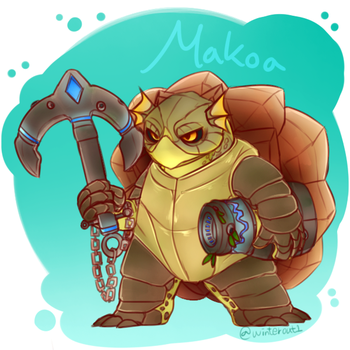 SD Makoa :D by winterout1