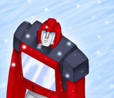 Ironhide by Comics-in-Disguise