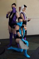 Mortal Kombat ladies by HoodedWoman