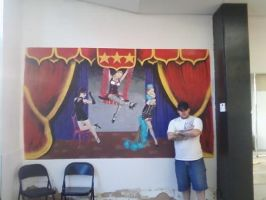 ME AND THE DANCE STUDIO by KYLE-CHANEY