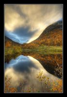reflections of autumn by Clearm