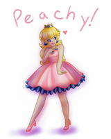 Peachy! by luigirules64