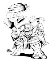 Trenchcoat Raph by Ninja-Turtles