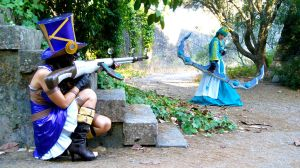 LoL - Caitlyn vs Ashe by ChoCoBa