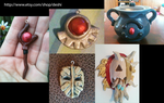 Slayers Replicas and Charms by theninjasquirrel