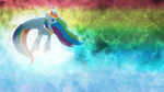 Princess Rainbow Dash - The Alicorn Goddess by Jamey4