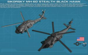 Stealth Sikorsky Black Hawk comparison [new] by unusualsuspex