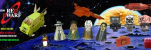 Red Dwarf Models - Series 2 by mikedaws