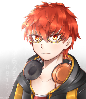 Mystic Messenger-707 by SushieWooshie