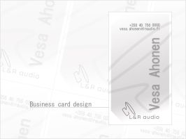Business Card Design by mistie