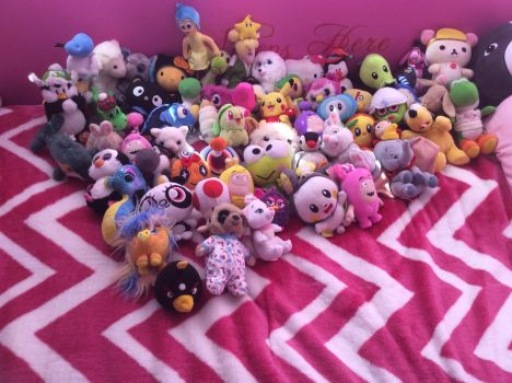 Plushie collection 5 by 123emilymason